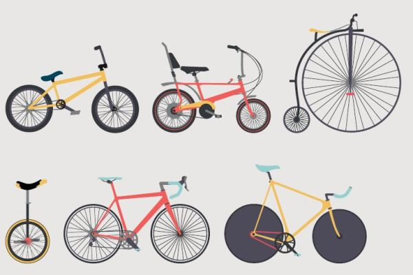 Love to Ride Bikes Graphic Illustration
