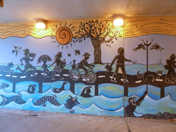 I-90 mural, photo credit - Flickr Photographer Chas Redmond