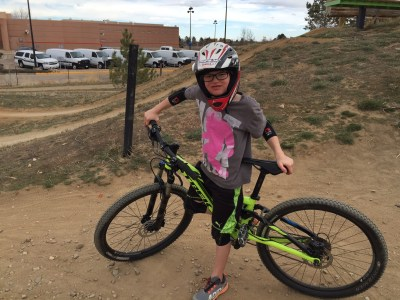 Owen Cook at Valmont Bike Park, Boulder, CO