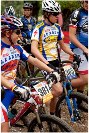Nica athletes volunteer with IMBA and REI