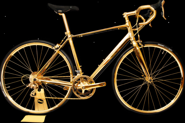 goldgenie, gold bike, giant