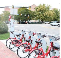B-cycle has added 16 new bike share stations around Boulder.