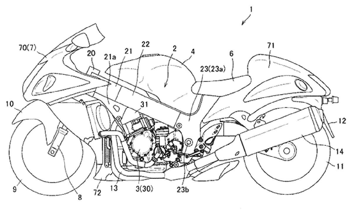Is The Suzuki Hayabusa Getting A Semi-Automatic