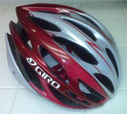 Don's new helmet.