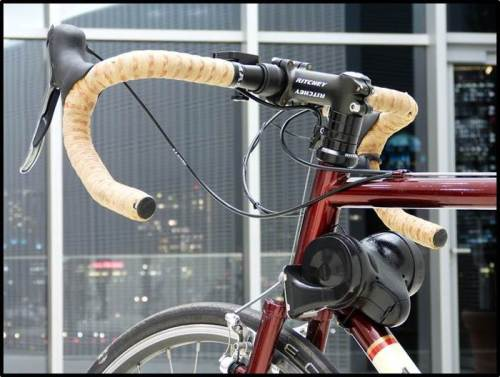 A bit bulky. Would you have one on your bike?