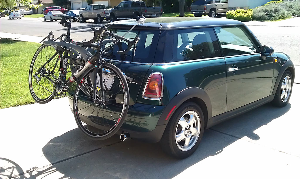 When I Am Asked Why Selected This New Car Respond One Of Two Ways 1 It Is My Mid Life Crisis Or 2 Fits Bike Rack