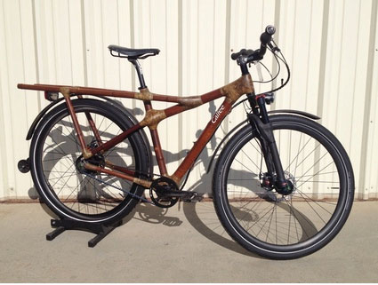 This bamboo 29er mountain bike from Calfee Design costs a cool $10,000.