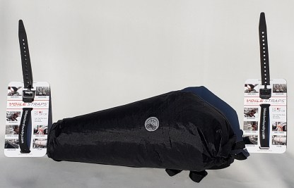 """SeatBag side view with two 20"""" Voile straps."""