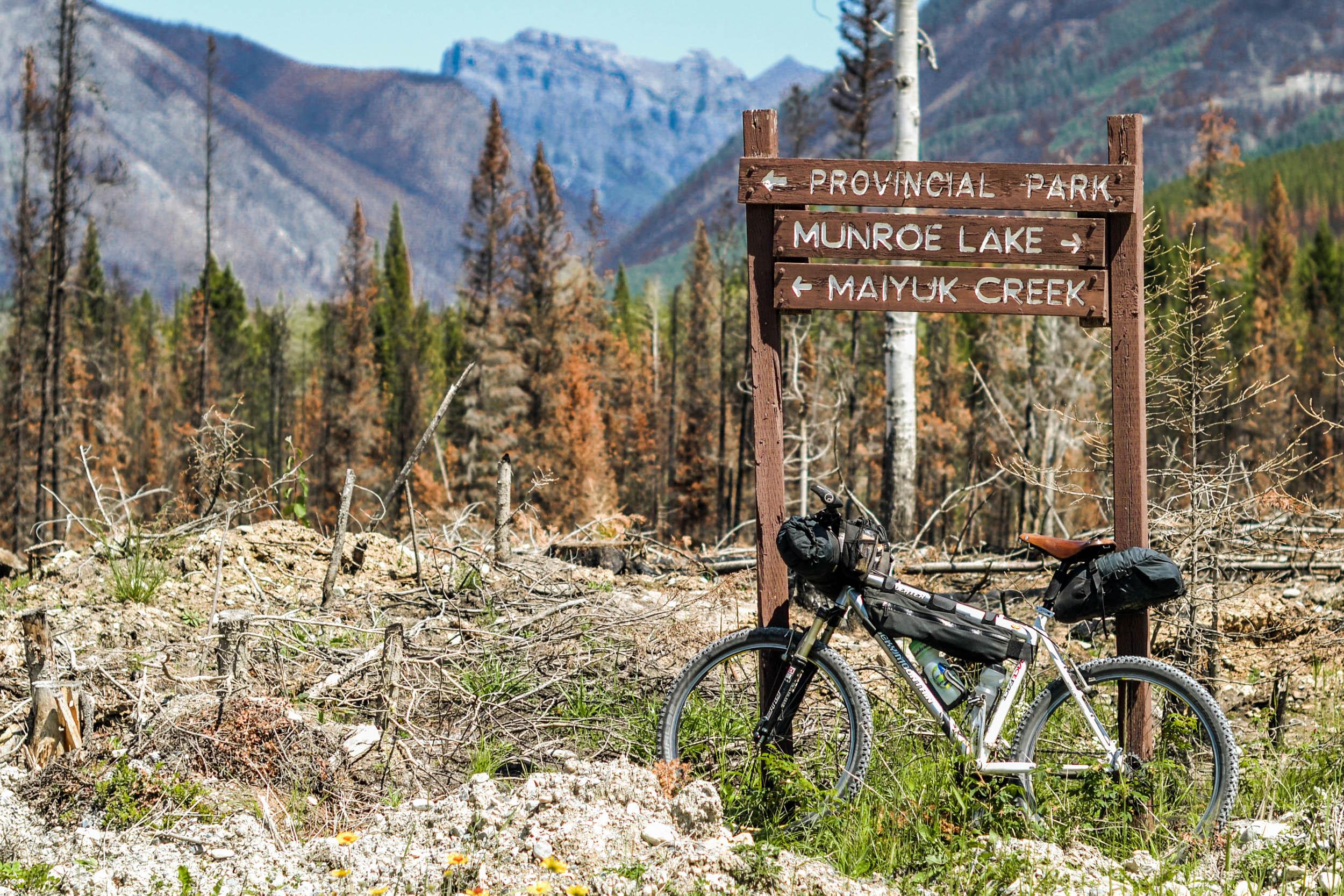 rocky mountain maneuvers bikepacking