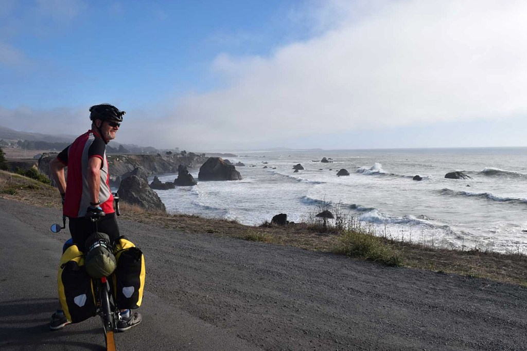 pacific coast bike route
