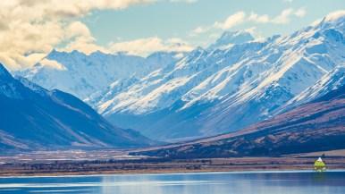 Lake Ohau and Mt. Cook/Aoraki