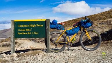 Nový výškový rekord pro naše kola. 900 m. n. m.