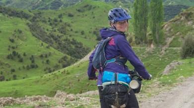 Downhill to Ruatiti