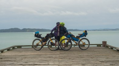 Getting closer to Auckland, Bikepacking Romance