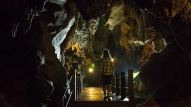 Jeskyně ve Wat Tham Chiang Dao