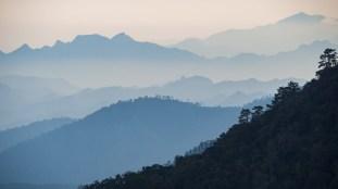 Západ slunce v Doi Ang Khang