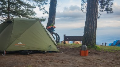 Camping morning at Doi Ang Khang