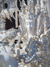 Sculpture in White Temple