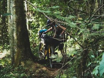 Let Adventure Begins.. Bikepushing beyond Kuang Si Waterfalls