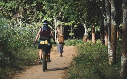 Villagers near Kuang Si and Dasha