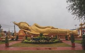 Leaving Vientiane, Buddha in Pha That Luang