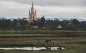 Výskyt kostelů nás ve Vietnamu docela překvapil