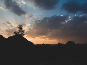 Vietnamese Sunset