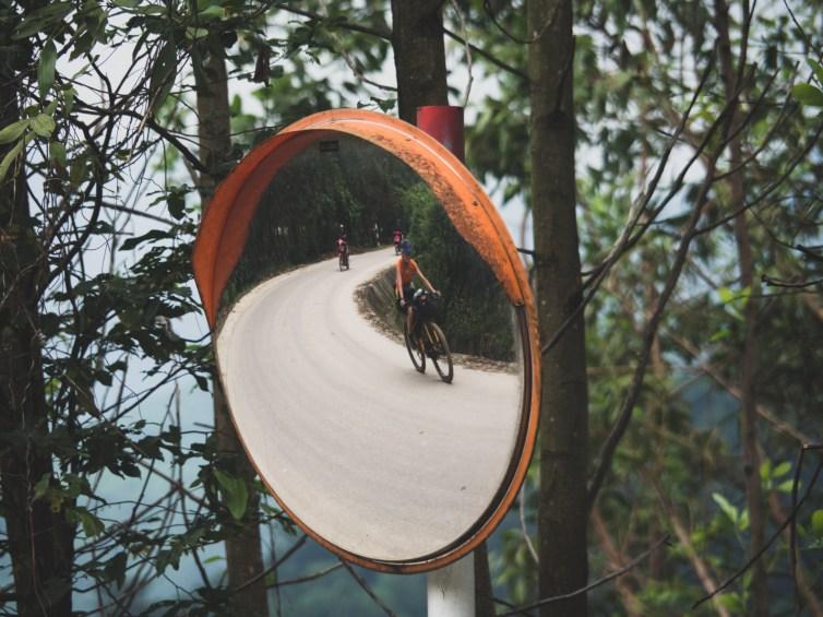Dasha in a mirror