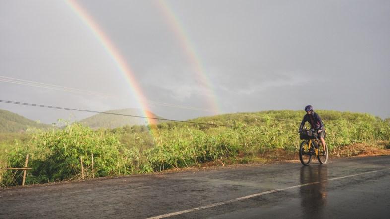 Šťastná jízda ve Vietnamu