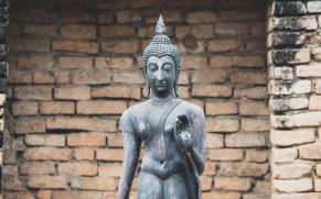 Buddha ve Wat Chang Lom