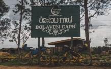 Bolaven Café on a top of Bolaven plateu