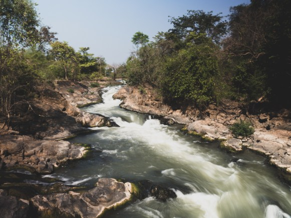 Rapids on Mekong river part one