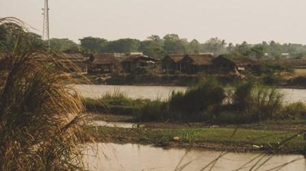 Myanmarská vesnice