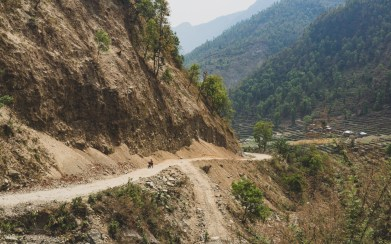 Getting Used to Local Roads, Nepal