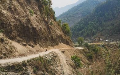 Zvykáme si na místní cesty, Nepál
