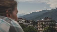 Výhled na Himálaj, Pokhara
