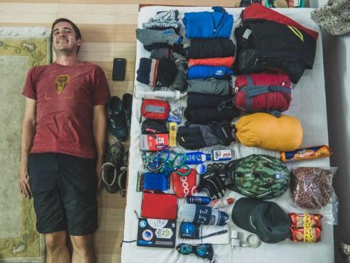 Sbalili jsme Garyho a jeho věci. Pokhara, Nepal