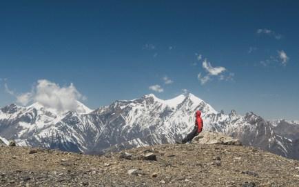 Gary and the views. Muktinath, Nepal