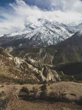 Gangnapurna. Gunsang, Nepál
