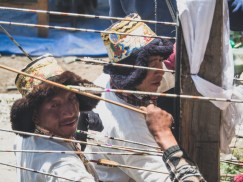 Festival lukostřelby. Khangsar, Nepál
