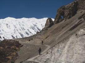 Trek to Tilicho Basecamp. Khangsar, Nepal