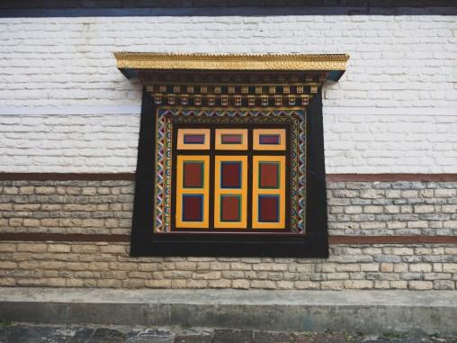 Klášter. Upper Pisang, Nepál
