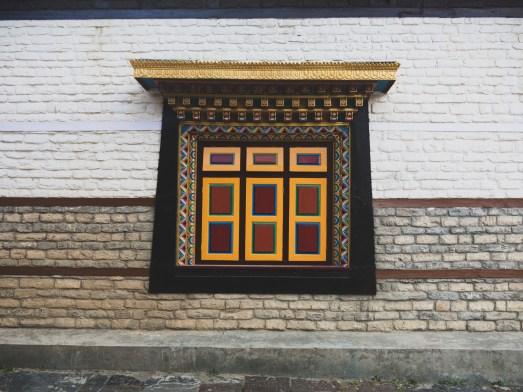 Monastery. Upper Pisang, Nepal