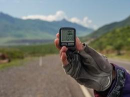 8000km on our trip. Tajikistan and Afganistan Frontier