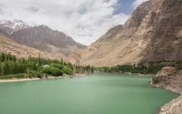 Entered Pamir on M41. Pamir Mountains, Tajikistan