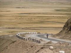 Arriving Murghab Flat. Murghab, Tajikistan