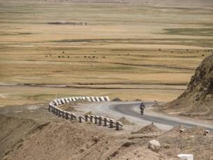 Příjezd do Murghabu. Murghab, Tádžikistán.