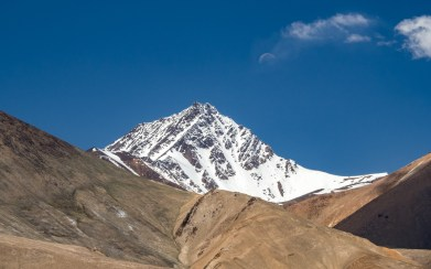 A Mountain. Murghab, Tajikistan