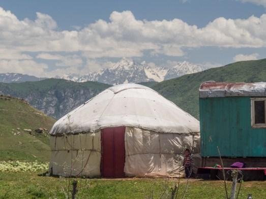 Yurta. Gul'cha, Kyrgyzstán