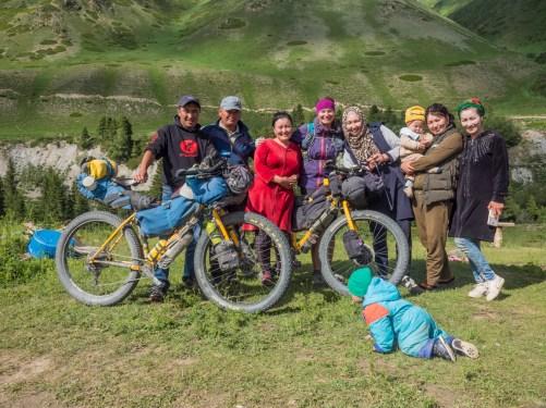 Návštěva Yurtkempu. Ike-Naryn, Kyrgyzstán